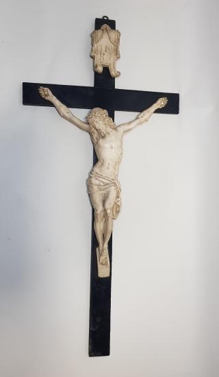 1900's ÇARMIHA GERİLMİŞ HAZRETİ İSA HEYKELİ: CRUCIFIX