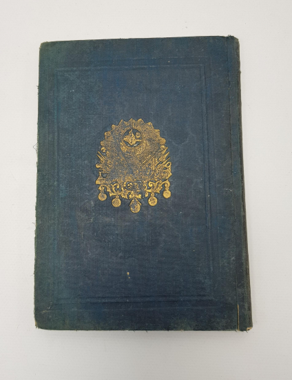 OSMANLI DEVLET ARMALI MÜKAFAT KİTABI...OSMANLICA ROMAN: BİR FACİRE