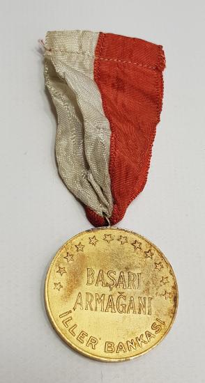 1933 İLLER BANKASI BAŞARI ARMAĞANI MADALYON