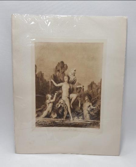 1850'LERDEN TANRIÇA VENÜS GRAVÜRÜ