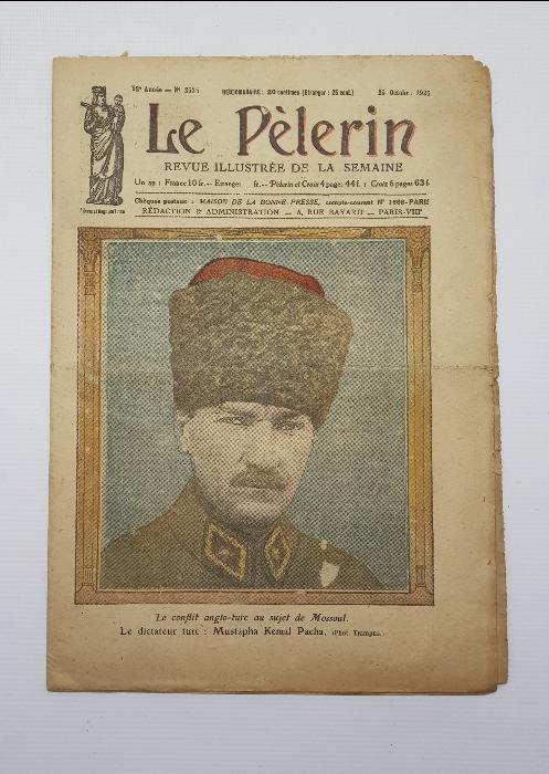 1925 MUSTAFA KEMAL ATATÜRK KAPAKLI LE PELERIN MECMUASI