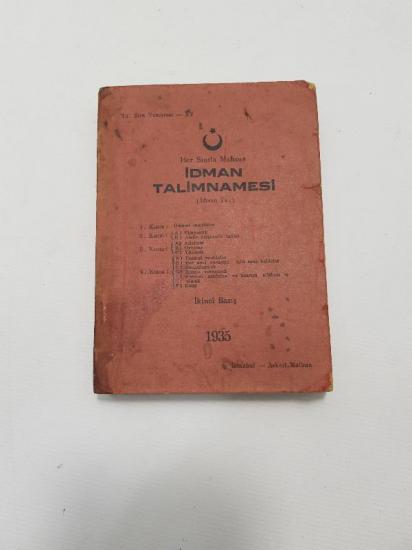 1935 İDMAN TALİMNAMESİ